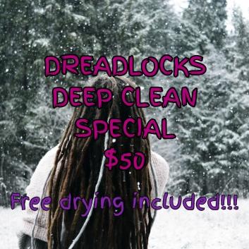 $50 deep clean- instagram